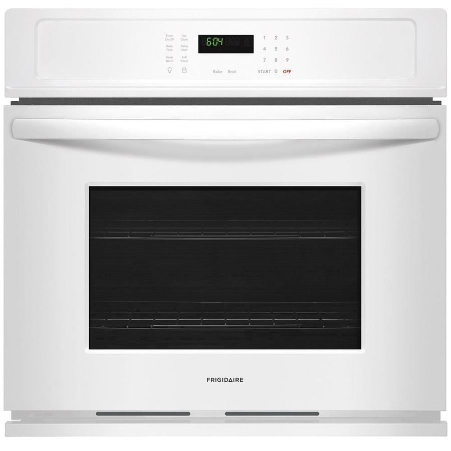Frigidaire Self-cleaning Single Electric Wall Oven (White) (Common: 30-in; Actual 30-in)