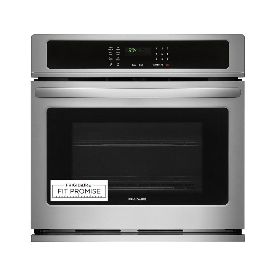 Frigidaire Self-cleaning Single Electric Wall Oven (EasyCare Stainless Steel) (Common: 30 Inch; Actual 30-in)