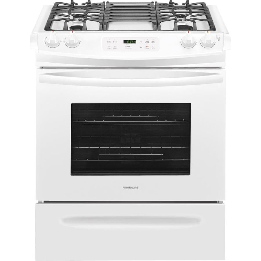 Frigidaire 4.5-cu ft Self-cleaning Slide-In Gas Range ...