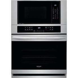 Frigidaire Gallery Self Cleaning True Convection Microwave Wall Oven Combo Stainless Steel 30 Inch
