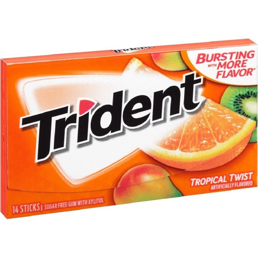 Trident 1.168-oz Bubble Gum