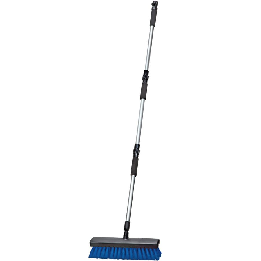 HomeRight 13-in Poly Fiber Stiff Deck Brush