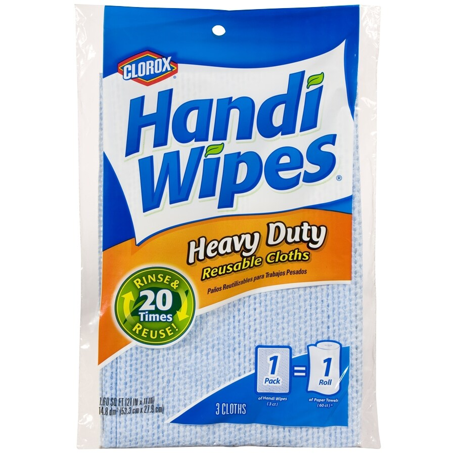 Handi-Wipes 3-Pack Polyester Cloths