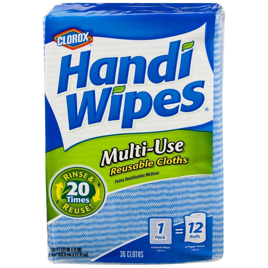 Handi-Wipes 36-Pack Poly Cotton Cloths