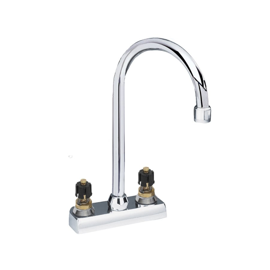 American Standard Heritage Polished Chrome 2-Handle Kitchen Faucet