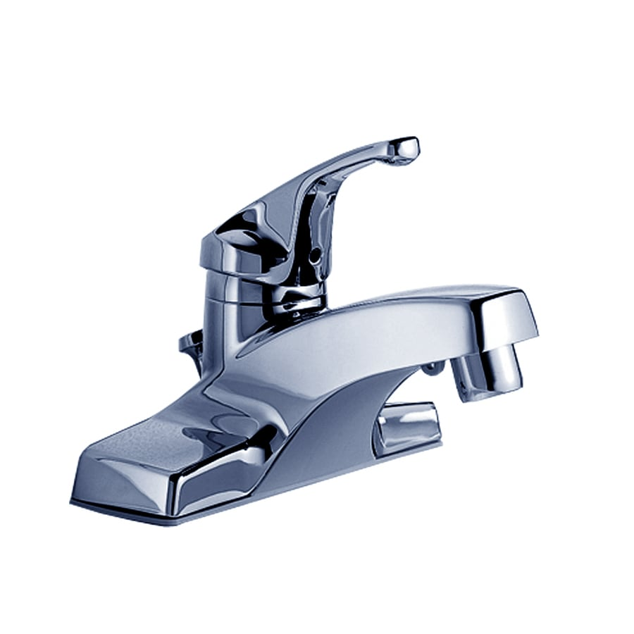 American Standard Colony Polished Chrome 1-Handle Single Hole WaterSense Bathroom Faucet (Drain Included)