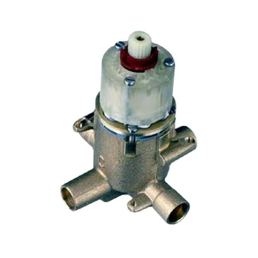 American Standard 1/2-in Brass Female In-Line Pressure Reducing Valve with Integral Stops