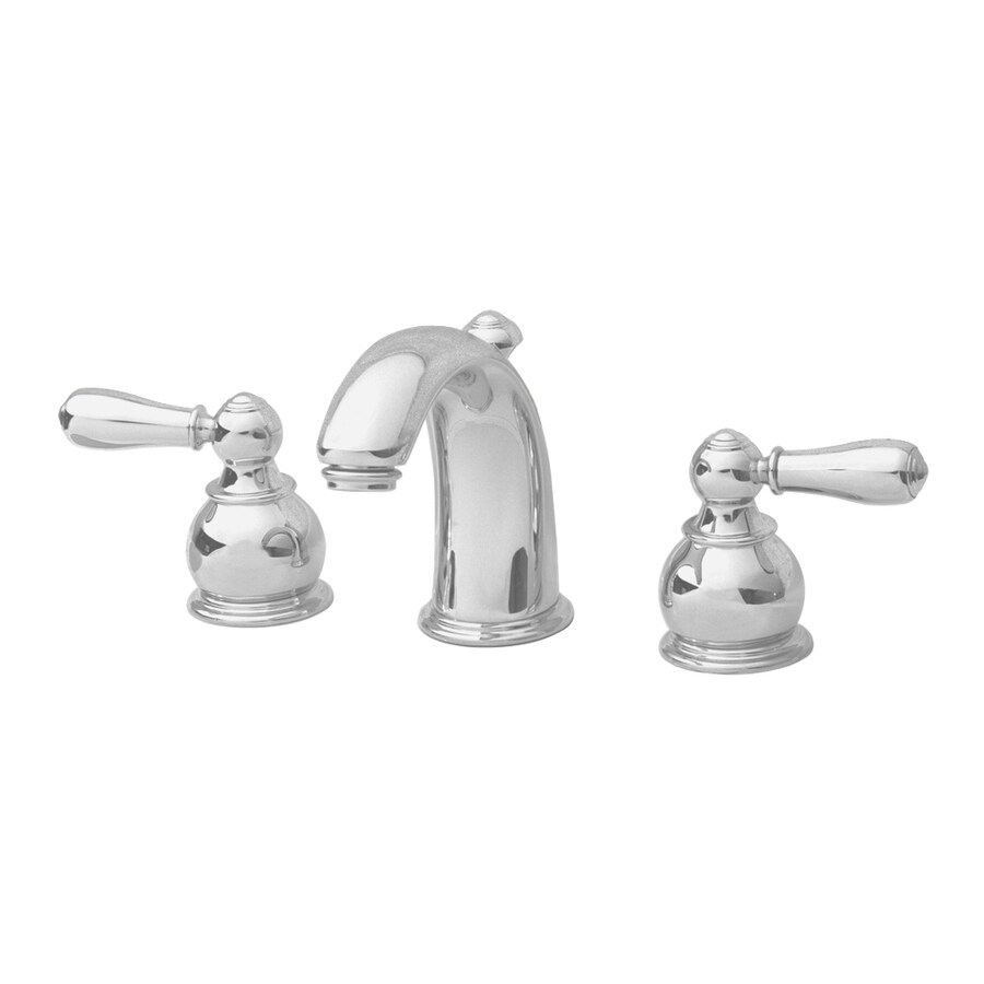 Shop American Standard Hampton Satin Nickel 2 Handle Widespread Watersense Bathroom Faucet