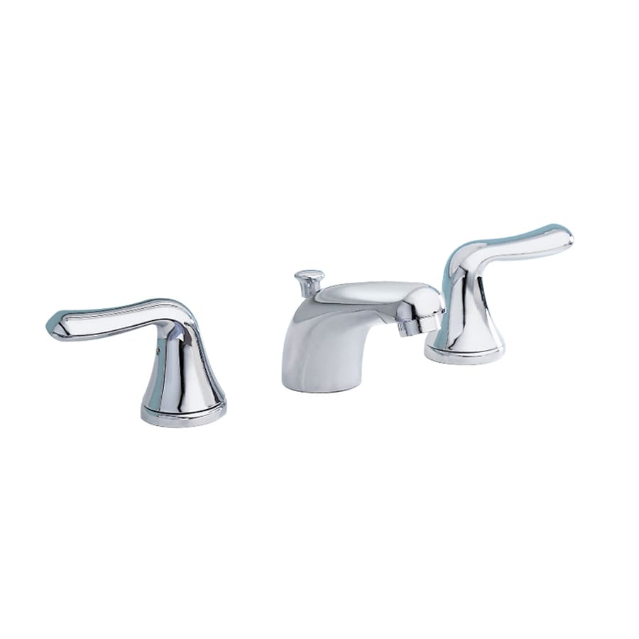 Shop American Standard Colony Polished Chrome 2 Handle Widespread Watersense Bathroom Faucet