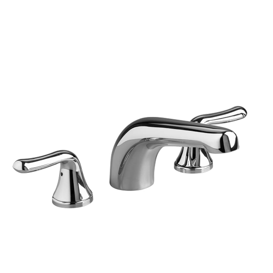 American Standard Colony Soft Polished Chrome 2-Handle Fixed Deck Mount Bathtub Faucet