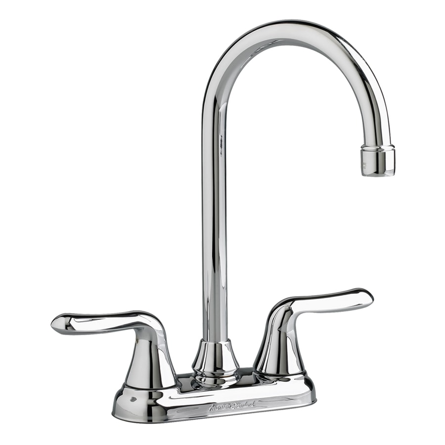 American Standard Colony Polished Chrome 1-Handle Bar and Prep Faucet