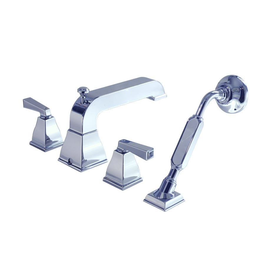 American Standard Townsquare Satin Nickel 2-Handle Fixed Deck Mount Bathtub Faucet