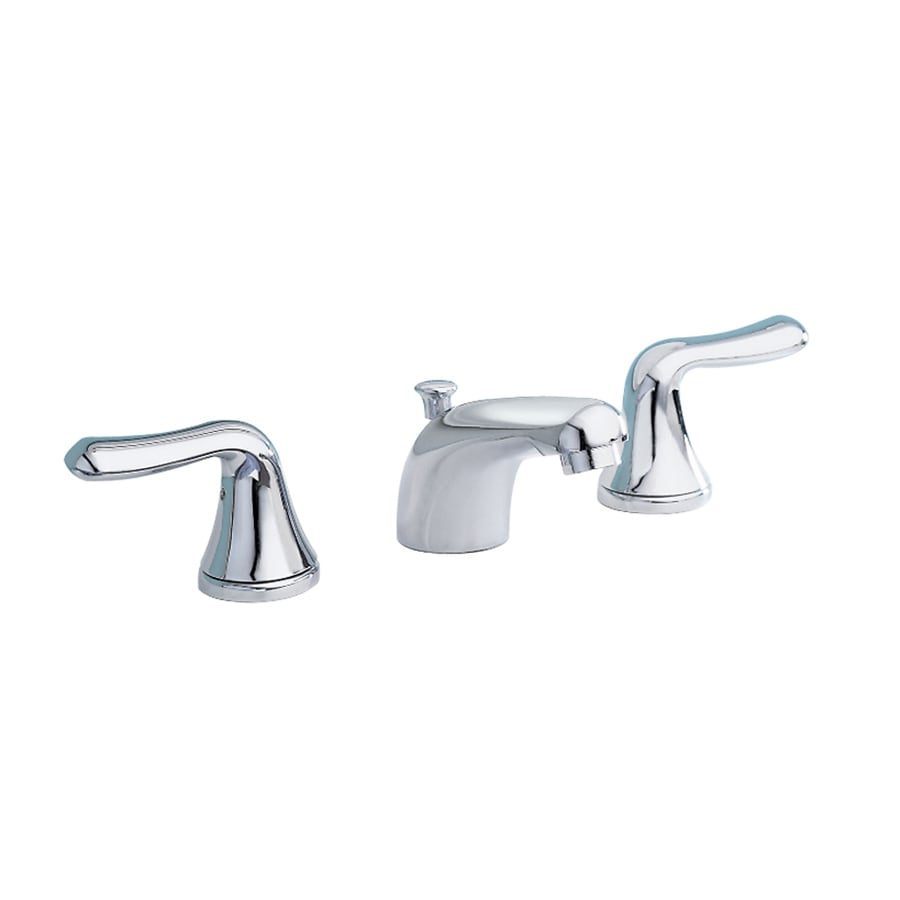 American Standard Colony Polished Chrome 2-Handle Widespread WaterSense Bathroom Faucet (Drain Included)