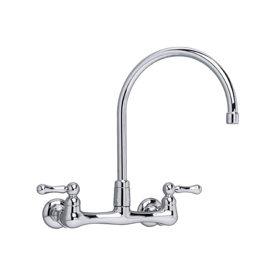 American Standard Heritage Polished Chrome 2-Handle Utility Faucet