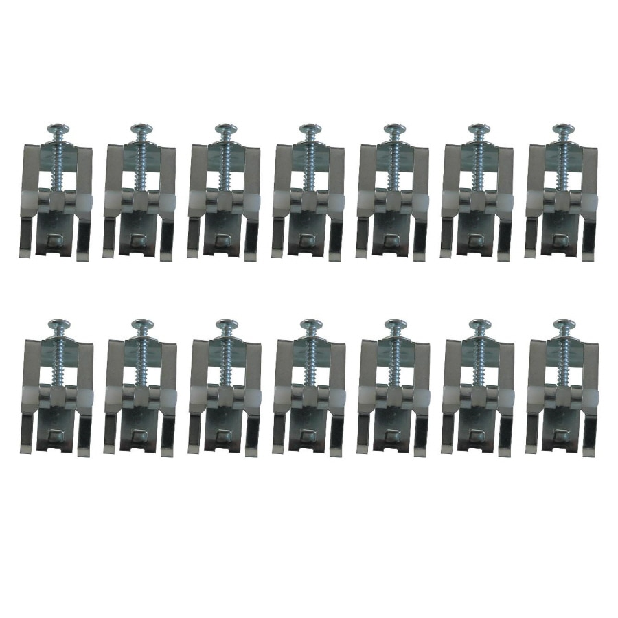 American Standard 14-Piece Galvanized Steel Kitchen Sink Mounting Clips