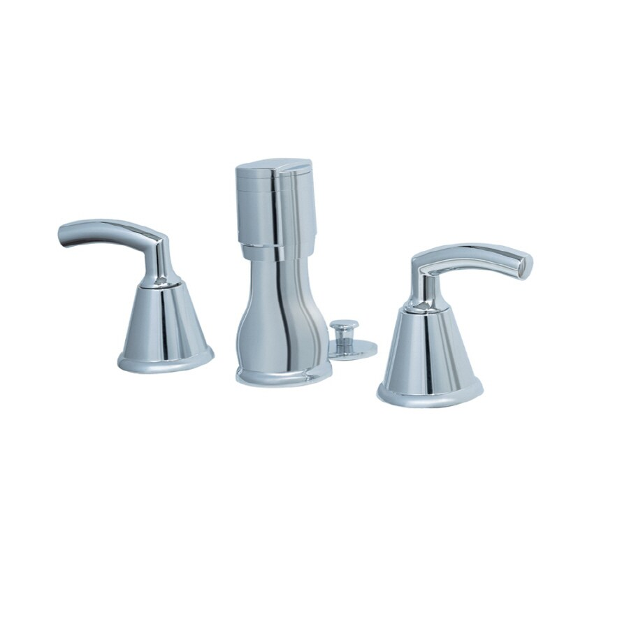 Shop American Standard Tropic Polished Chrome Vertical Spray Bidet ...