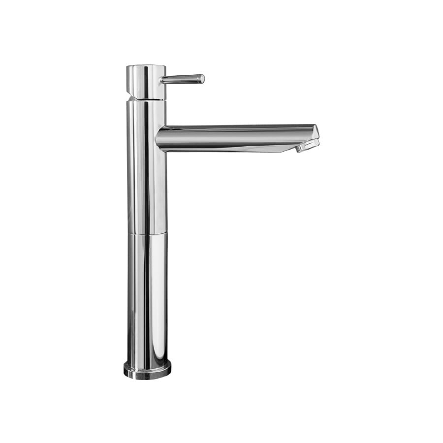 American Standard Serin Polished Chrome 1-Handle Single Hole WaterSense Bathroom Faucet (Drain Included)