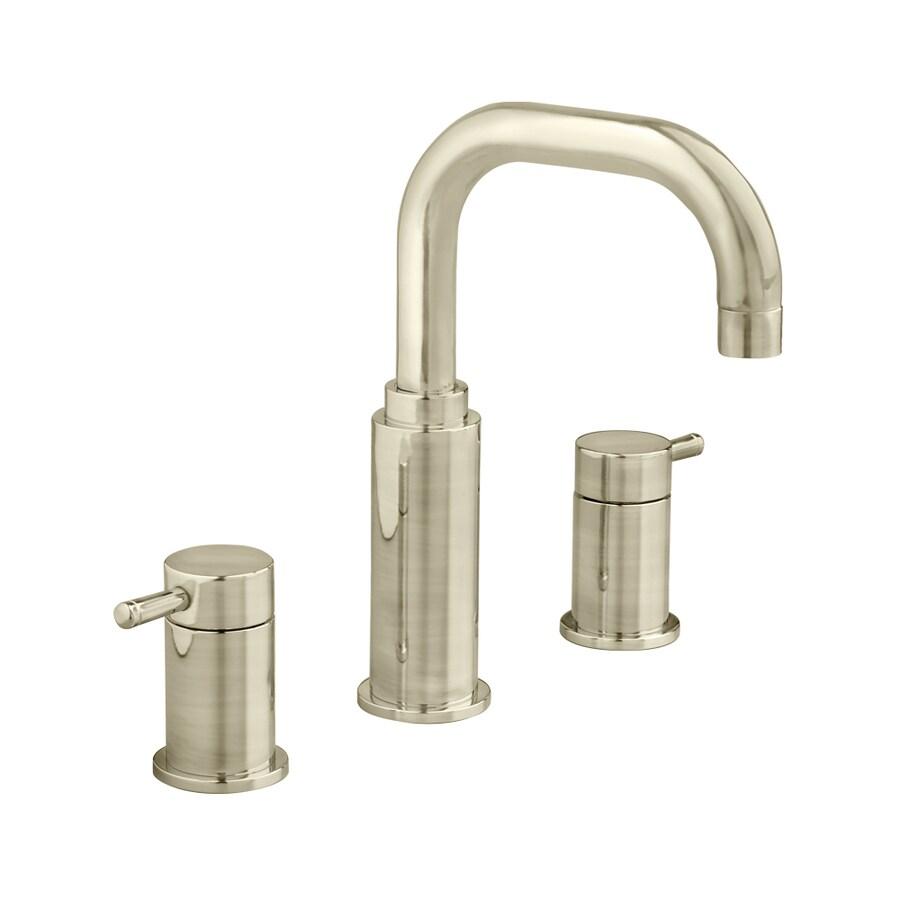 American Standard Serin Satin Nickel 2-Handle Widespread WaterSense Bathroom Faucet (Drain Included)