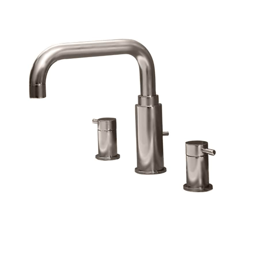 American Standard Serin Satin Nickel 2-Handle Deck Mount Bathtub Faucet