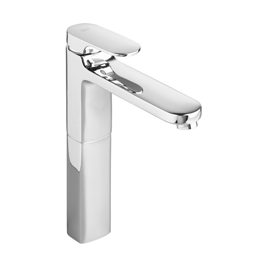 American Standard Moments Chrome 1-Handle Single Hole WaterSense Bathroom Faucet (Drain Included)