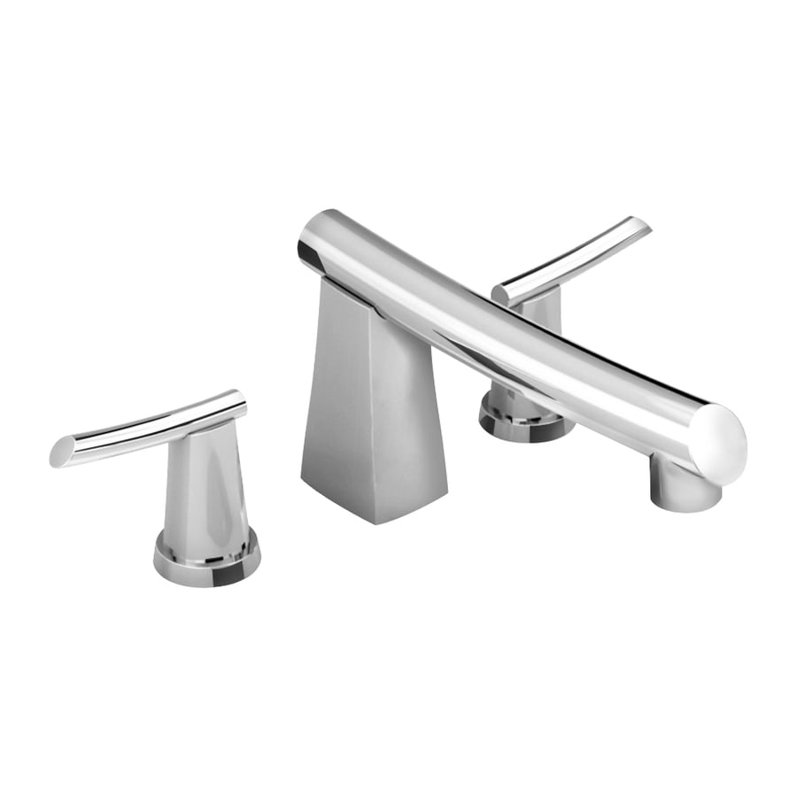 American Standard Green Tea Polished Chrome 2-Handle Fixed Deck Mount Tub Faucet