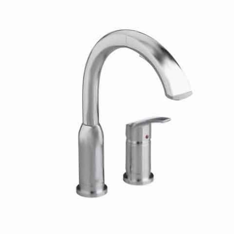 Shop American Standard Arch Stainless Steel 1 Handle Deck