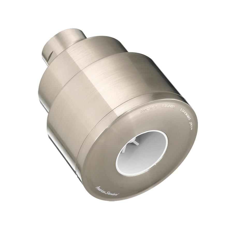 American Standard Flowise 2.5-in 1.5-GPM (5.7-LPM) Stainless Steel 1-Spray WaterSense Showerhead