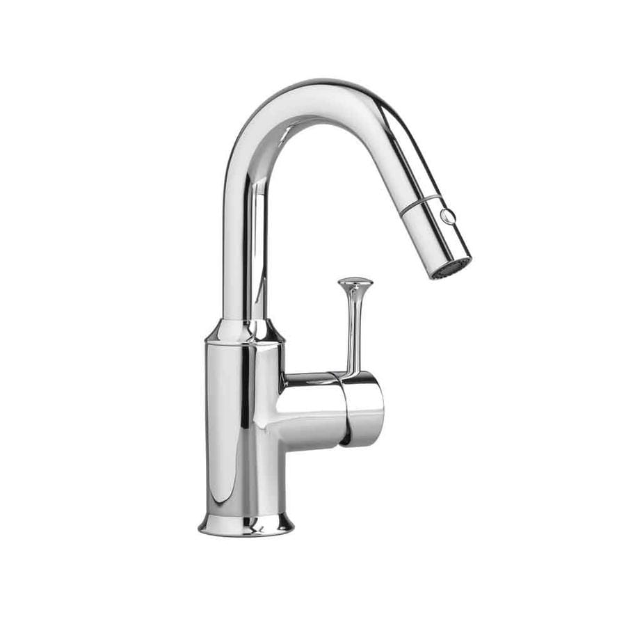 American Standard Pekoe Polished Chrome 1-Handle Kitchen Faucet