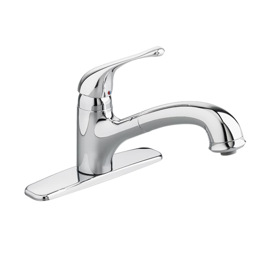 American Standard Colony Polished Chrome 1-Handle Deck Mount Pull-Out Kitchen Faucet