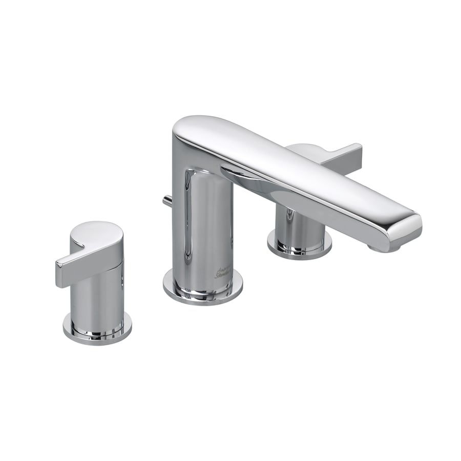 American Standard Studio Polished Chrome 2-Handle Fixed Deck Mount Tub Faucet