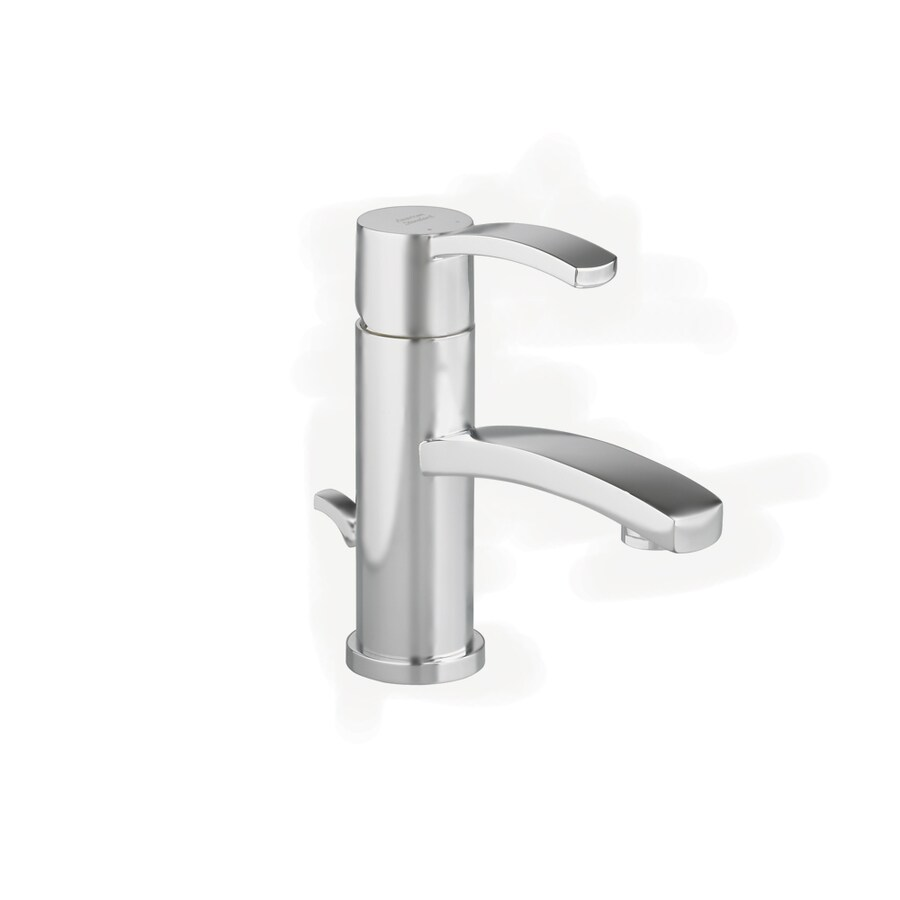 American Standard Berwick Satin Nickel 1-Handle Single Hole WaterSense Bathroom Faucet (Drain Included)