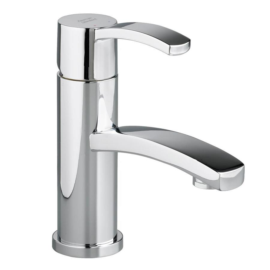 Shop American Standard Berwick Polished Chrome 1 Handle Single Hole Watersense Bathroom Faucet