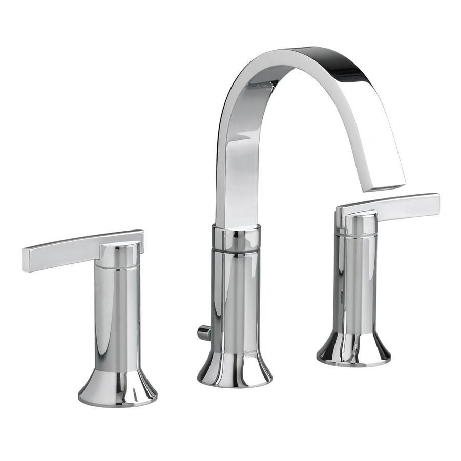 Shop American Standard Berwick Polished Chrome 2 Handle Widespread Watersense Bathroom Faucet