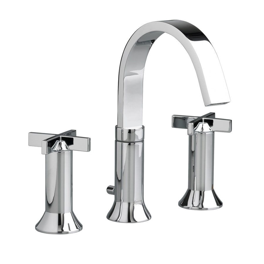 American Standard Berwick Polished Chrome 2-Handle Widespread WaterSense Bathroom Faucet (Drain Included)