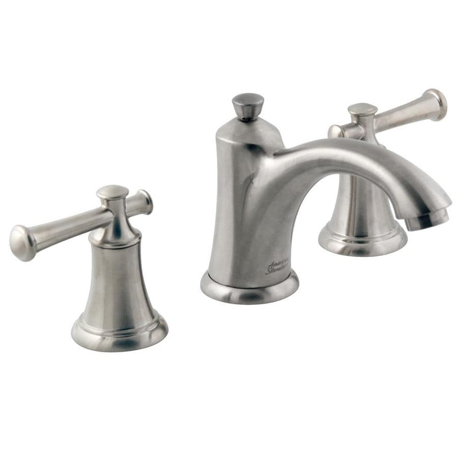 Shop American Standard Portsmouth Satin Nickel 2 Handle Widespread Watersense Bathroom Faucet