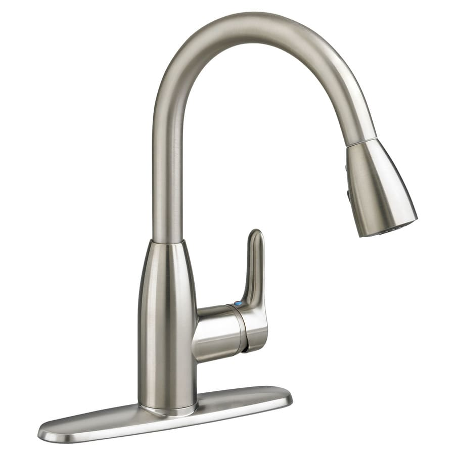 american standard kitchen sink faucet shop american standard colony stainless steel 1 handle 923