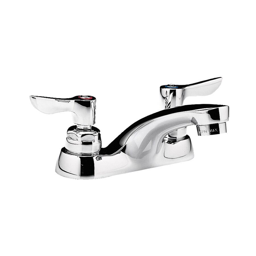 American Standard Monterrey Polished Chrome 2-Handle WaterSense Bathroom Sink Faucet (Drain Included)