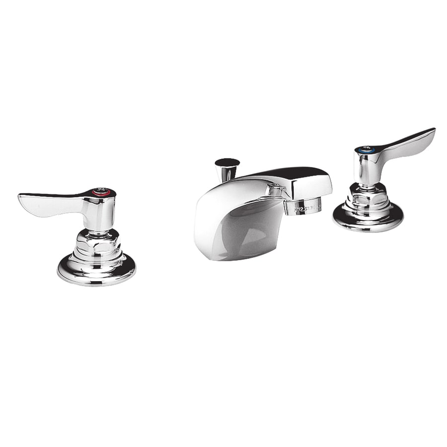American Standard Monterrey Polished Chrome 2-Handle Handle(S) Included WaterSense Commercial Bathroom Faucet Valve Included