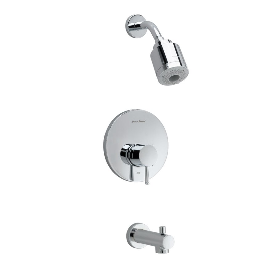 American Standard Serin Polished Chrome 1 Handle Shower Faucet At