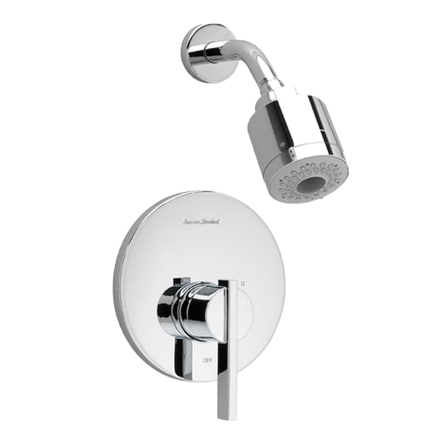 American Standard Berwick Polished Chrome 1-Handle Shower Faucet Trim Kit with Multi-Function Showerhead