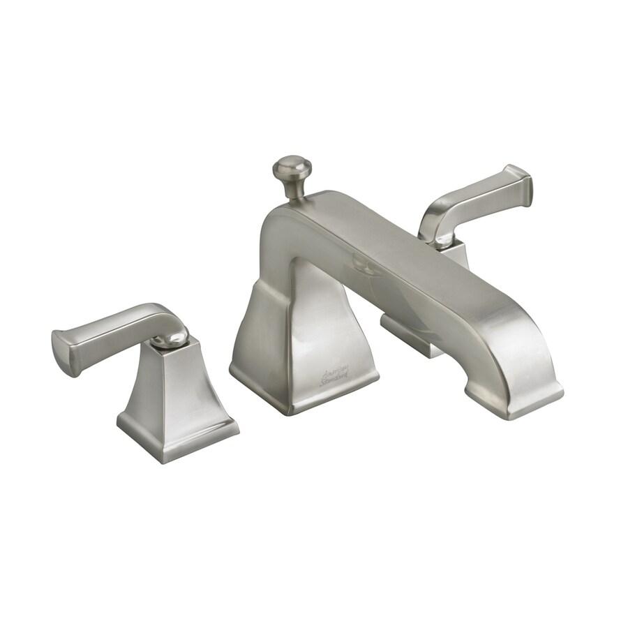American Standard Town Square Satin Nickel 2-Handle Deck Mount Bathtub Faucet