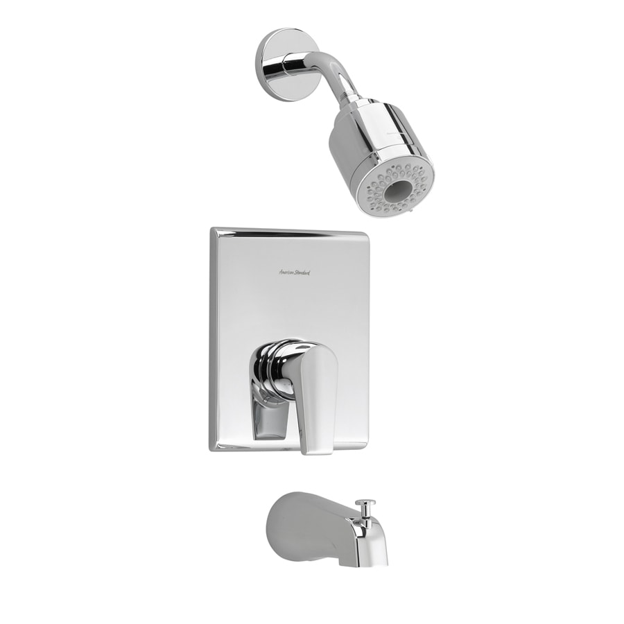Shop American Standard Chrome Tub And Shower Trim Kit At