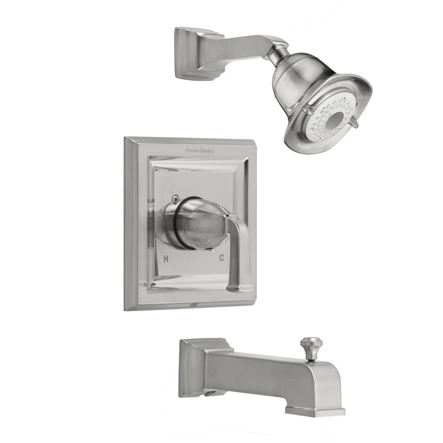 shop american standard nickel tub shower trim kit at lowes 85959