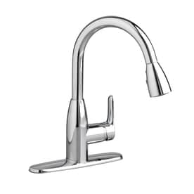 American Standard Colony Soft Polished Chrome 1 Handle Deck Mount Pull Down Kitchen  Faucet