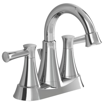American Standard Bathroom Faucets >> Avery Chrome 2 Handle 4 In Centerset Watersense Bathroom Faucet Drain Included