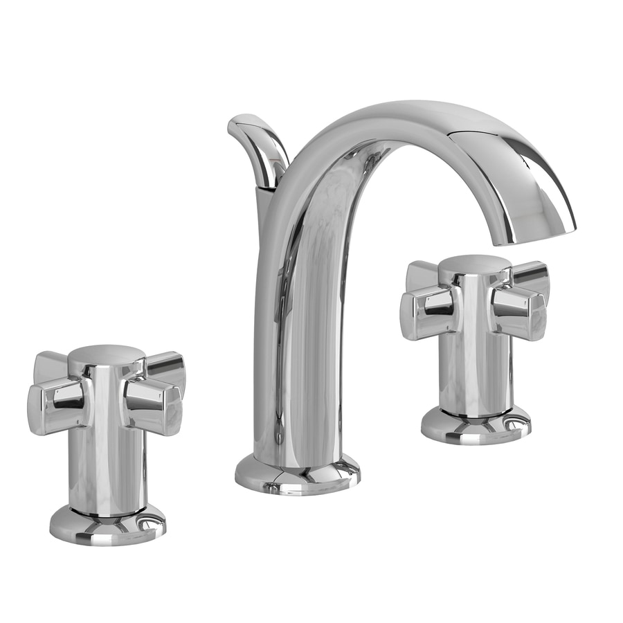 American Standard Dolina Chrome 2-Handle Widespread WaterSense Bathroom Faucet (Drain Included)
