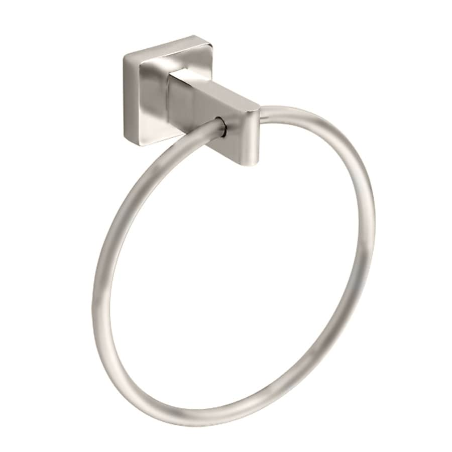 American Standard Cs Series Satin Nickel Wall Mount Towel Ring