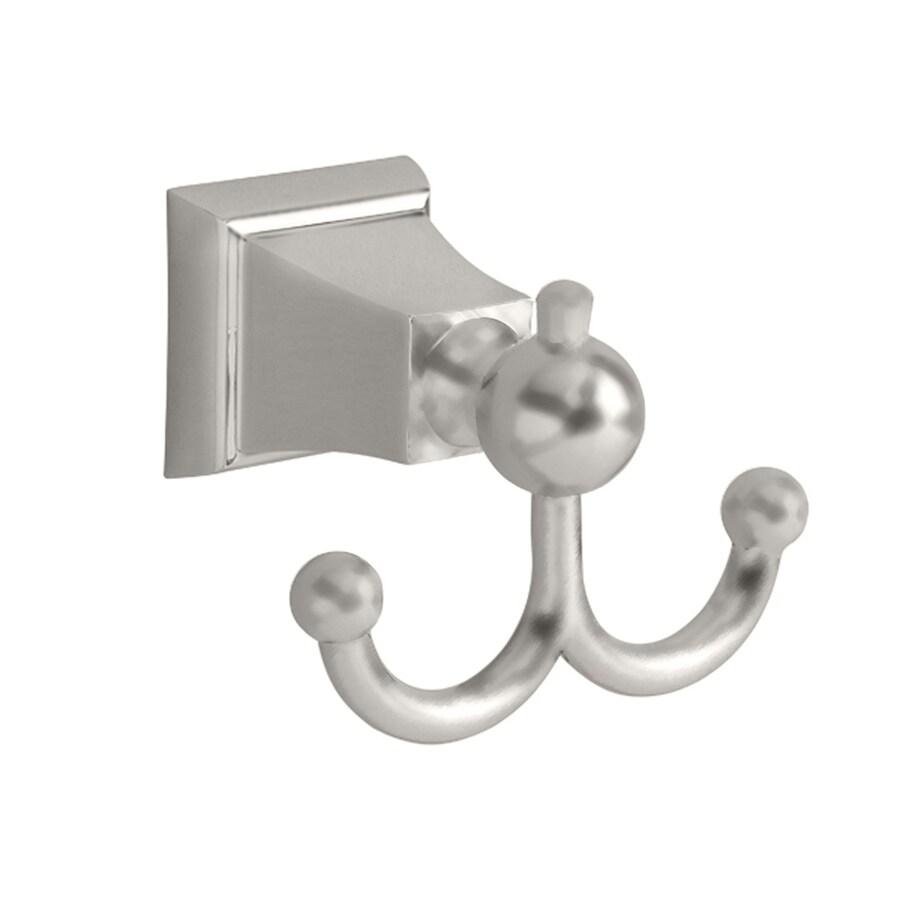 American Standard 2-Hook Satin Nickel Towel Hook