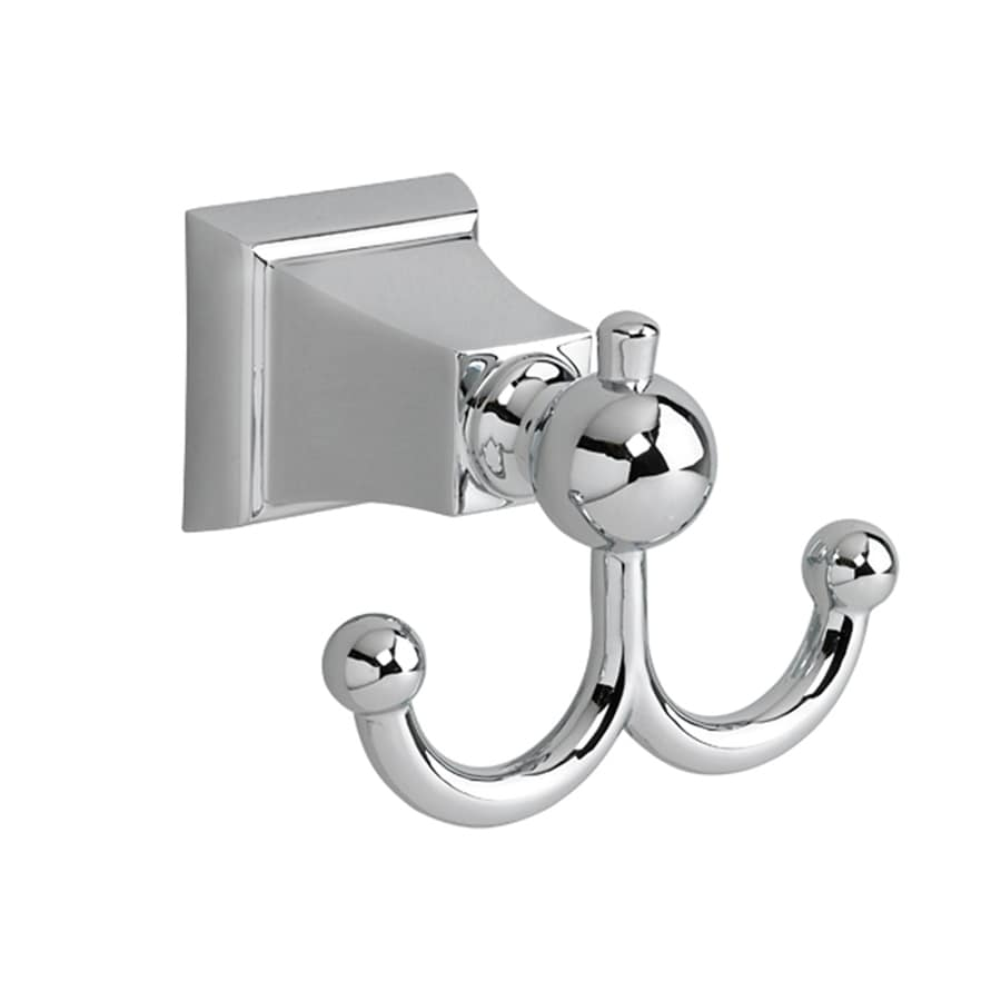 American Standard 2-Hook Chrome Robe Hook