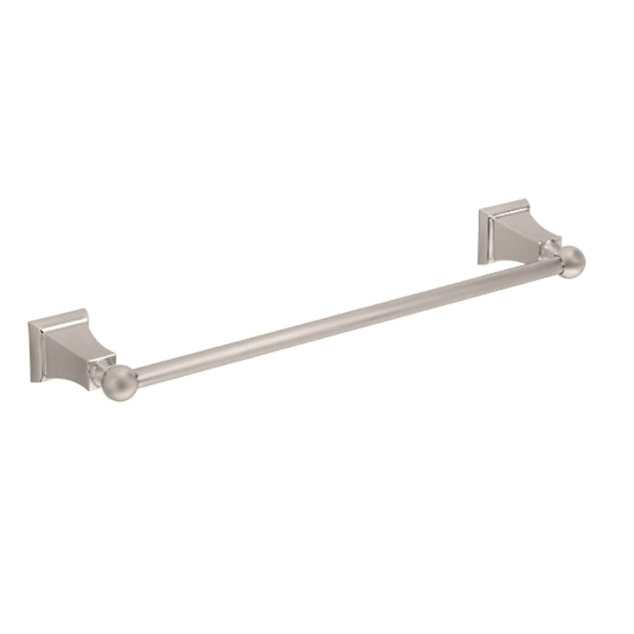 American Standard Satin Nickel Single Towel Bar (Common: 24-in; Actual: 26-in)
